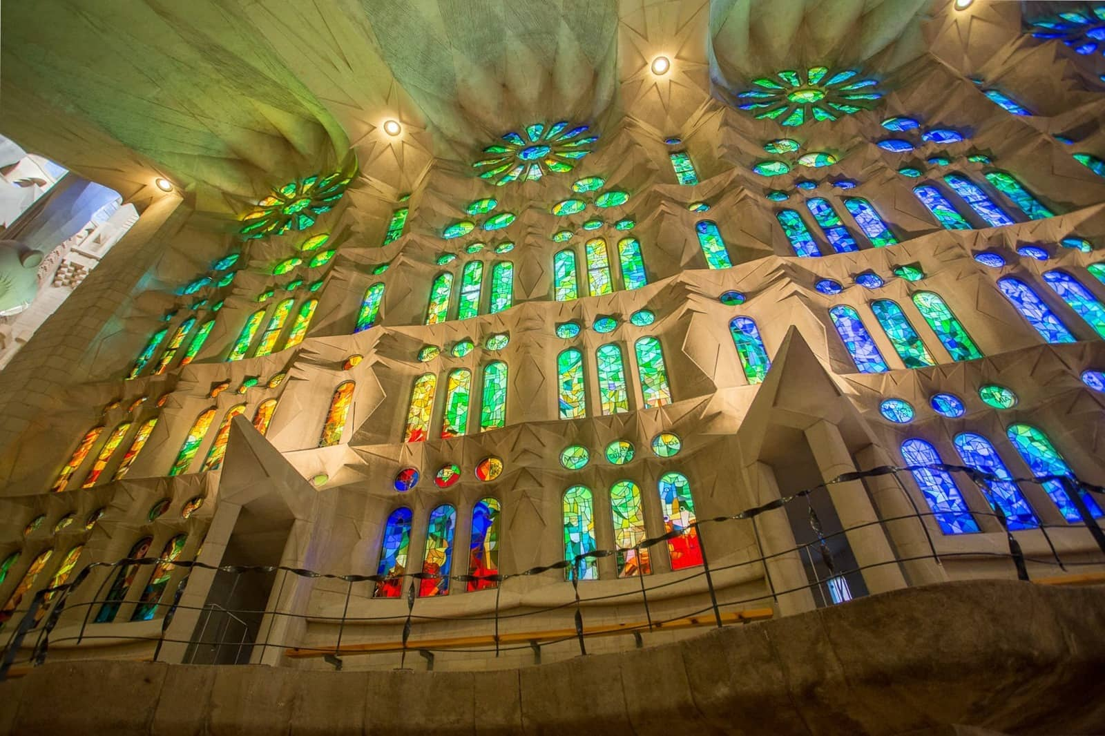 Sagrada Familia Stained Glass Barcelona