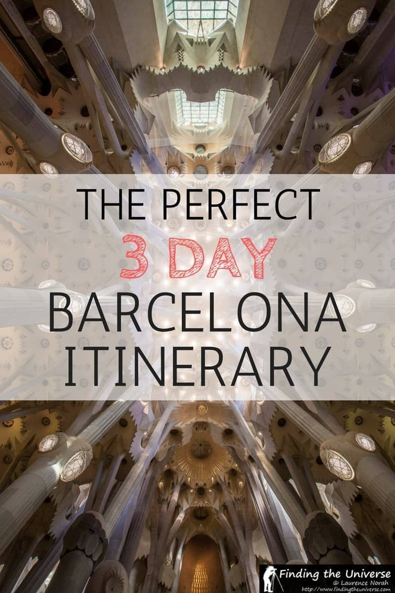 3 days in barcelona the perfect barcelona itinerary finding the