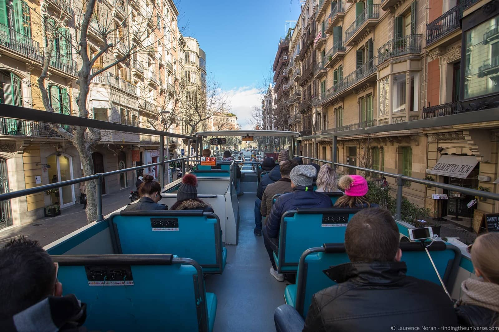 Hop on hop off bus tour Barcelona