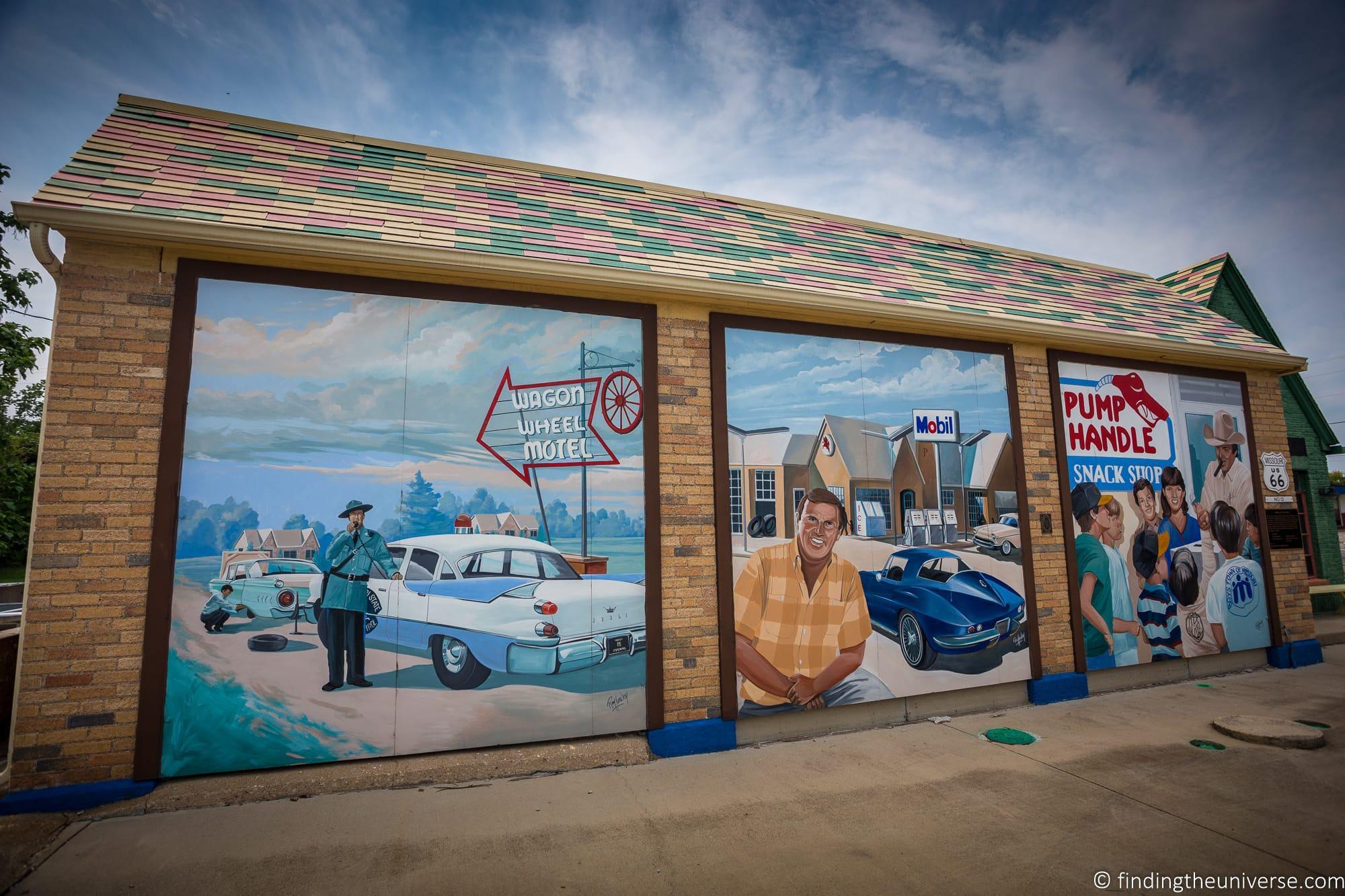 Route 66 Missouri - Amanda murals