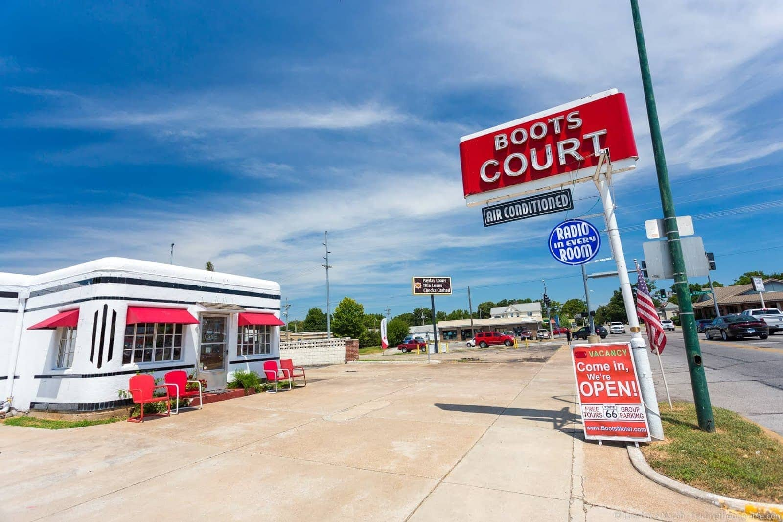 Route 66 Missouri - Boots Court Motel Carthage_by_Laurence Norah