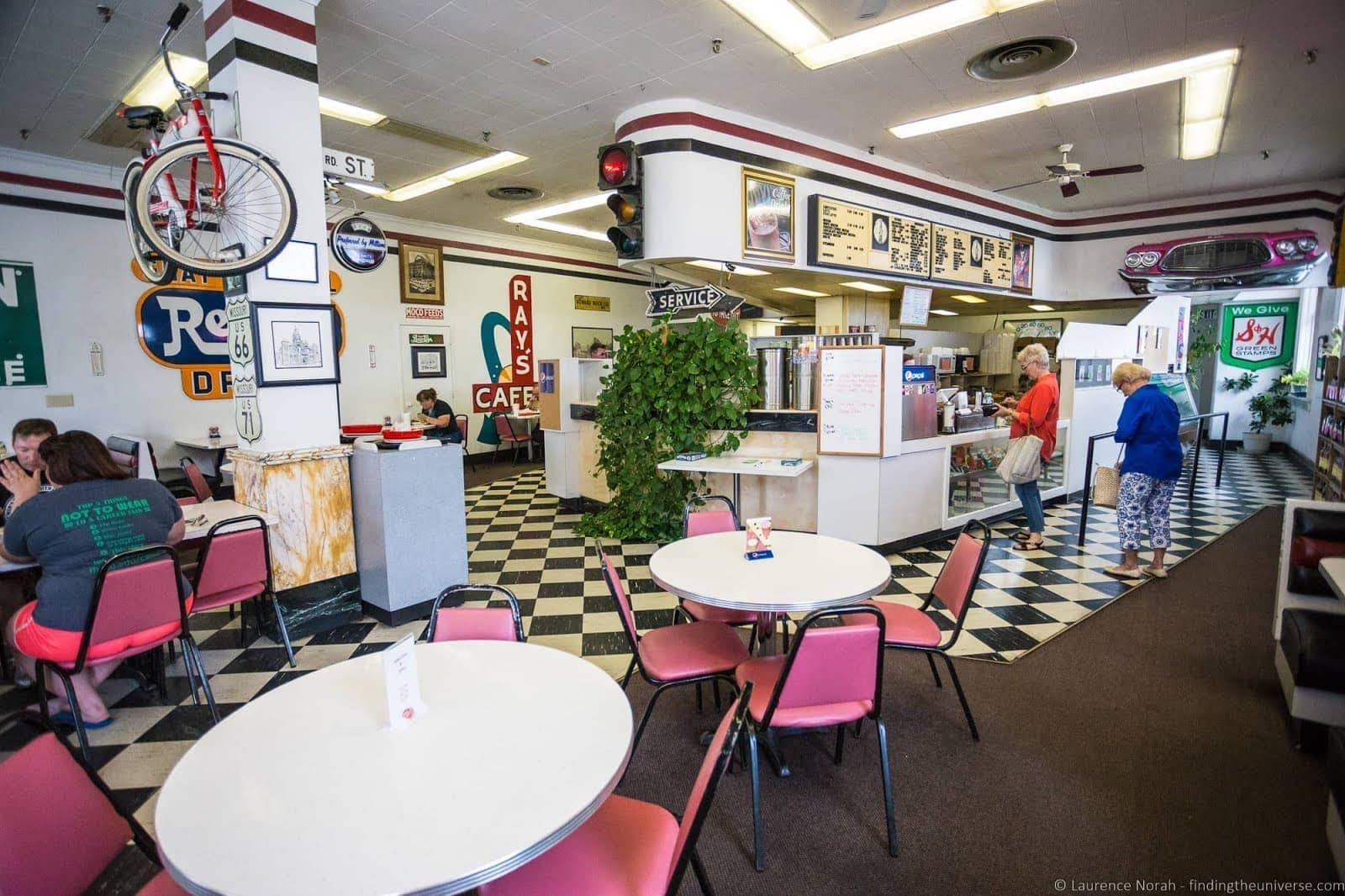 Route 66 Missouri - Diner Carthage_by_Laurence Norah