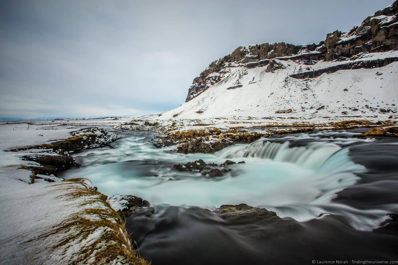 Planning a trip to Iceland: Small waterfall Iceland_by_Laurence Norah