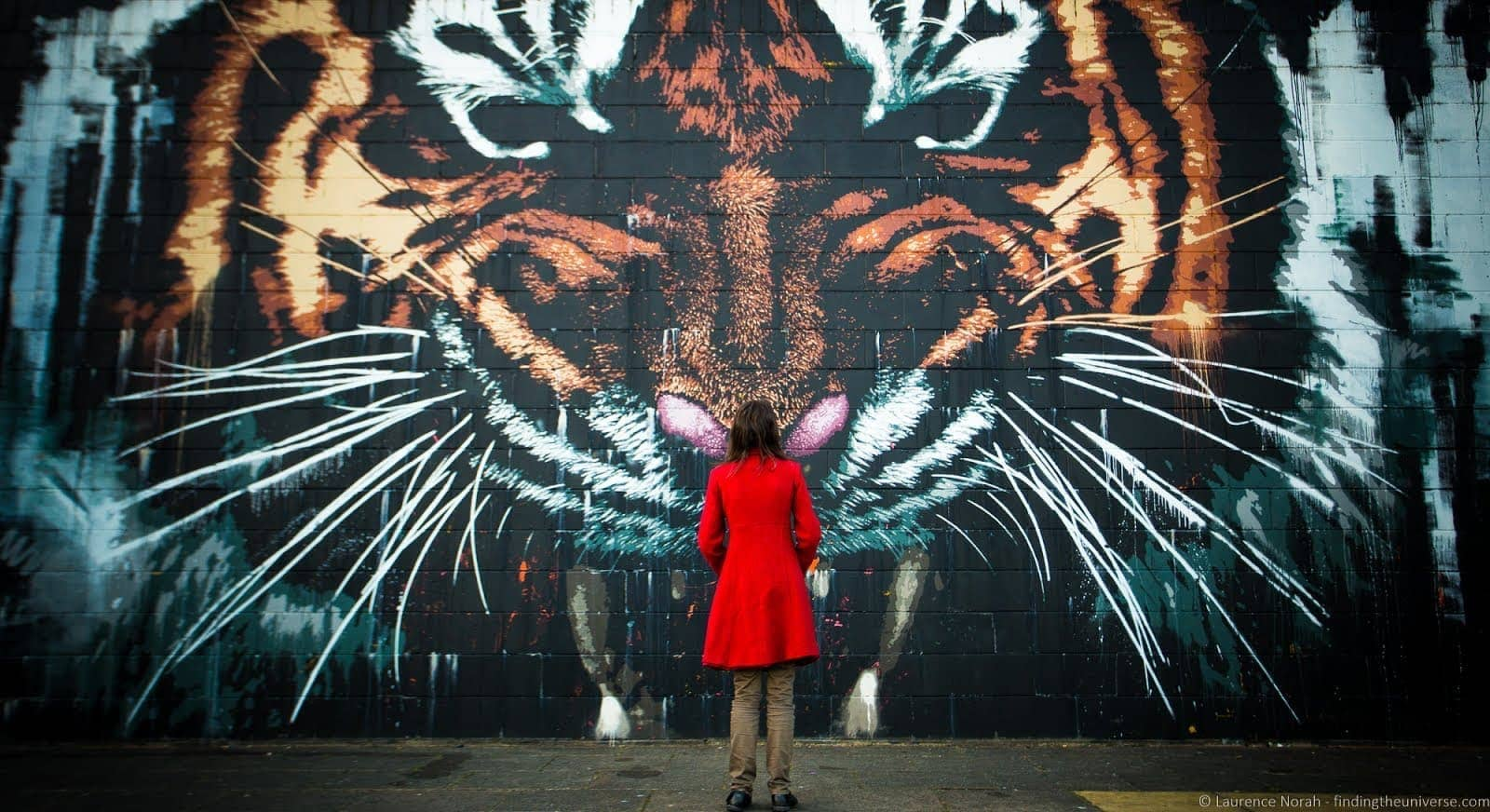 2 Days in Glasgow - Glasgow Street Art Tiger_by_Laurence Norah