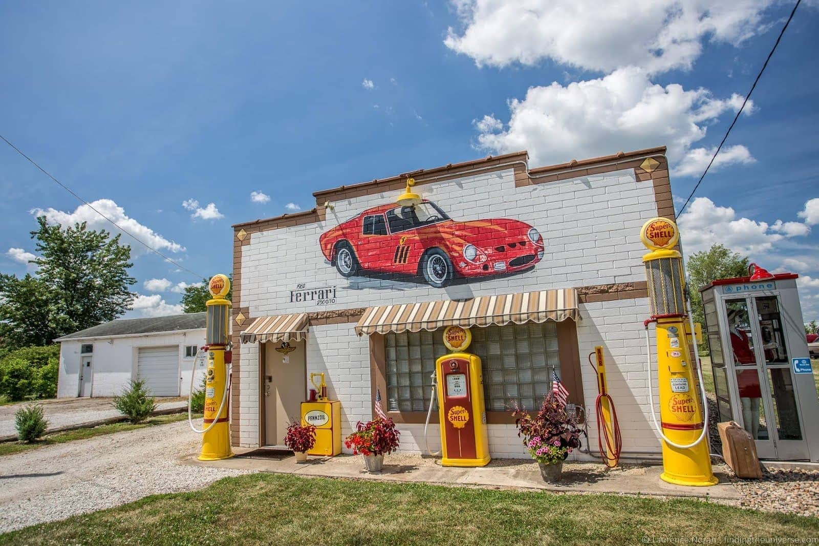 Old Gas Station Dwight Route 66 illinois_by_Laurence Norah
