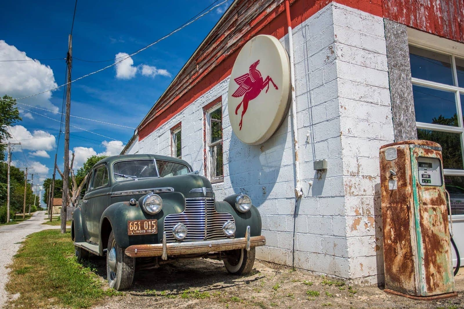Old gas station Odell Route 66 Illinois_by_Laurence Norah-2