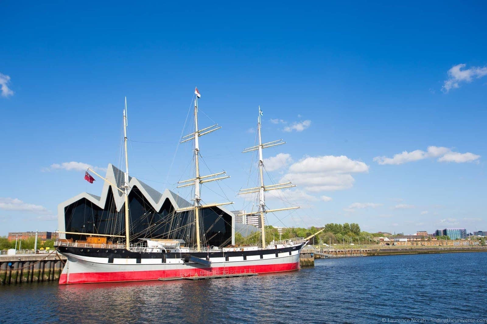 Tall Ship at Riverside Museum Glasgow_by_Laurence Norah