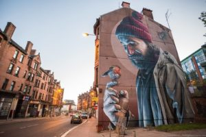 The Street Art of Glasgow – In Photos