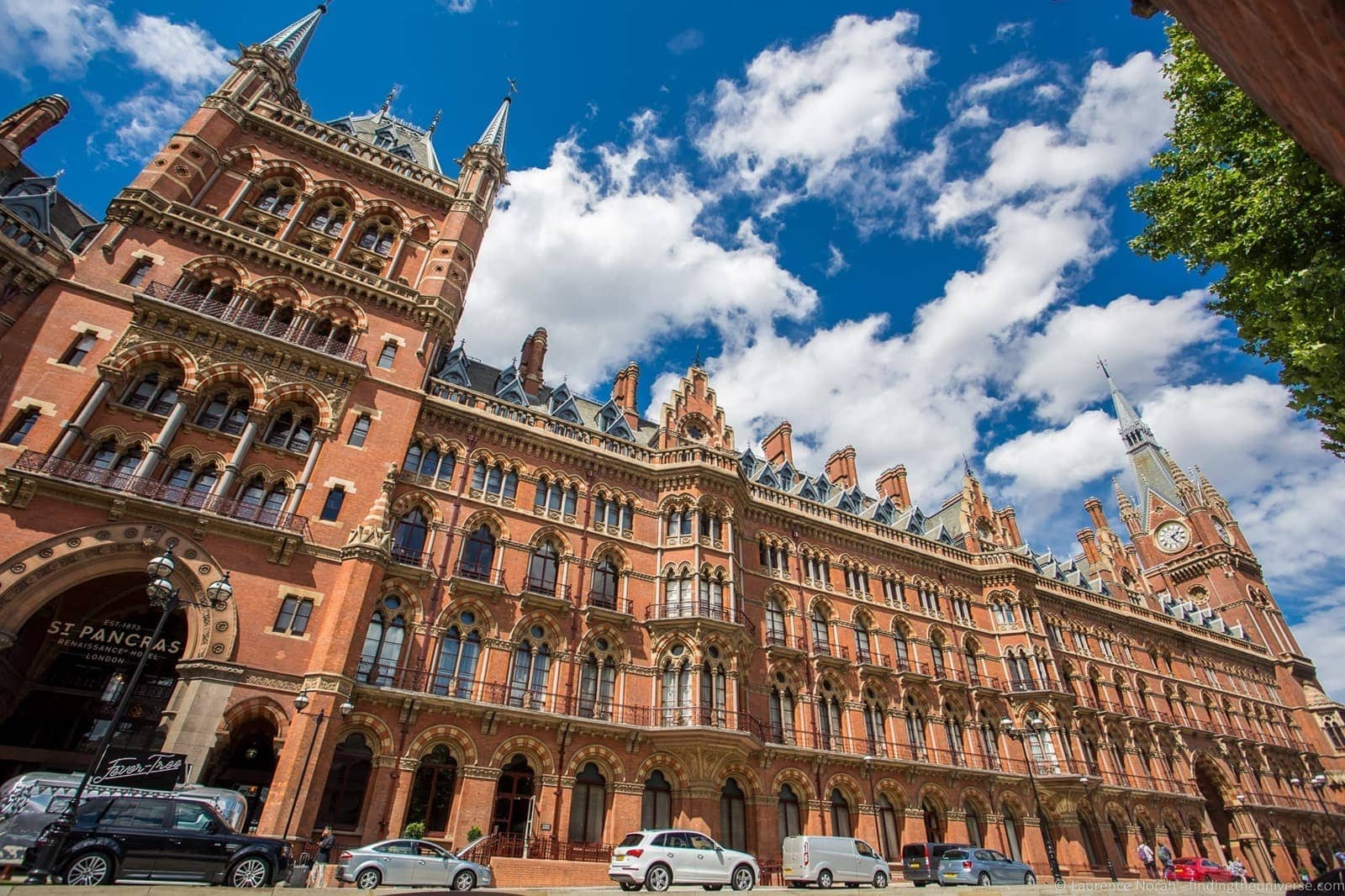 Harry Potter Filming Location London - St Pancras