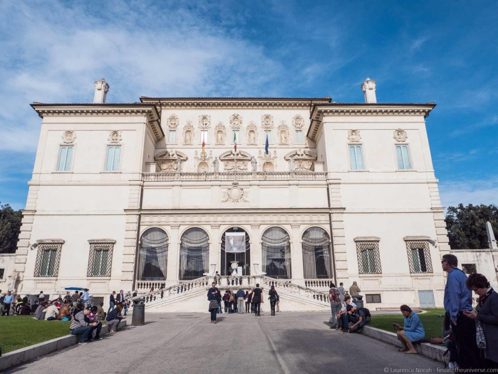 Borghese gallery exterior
