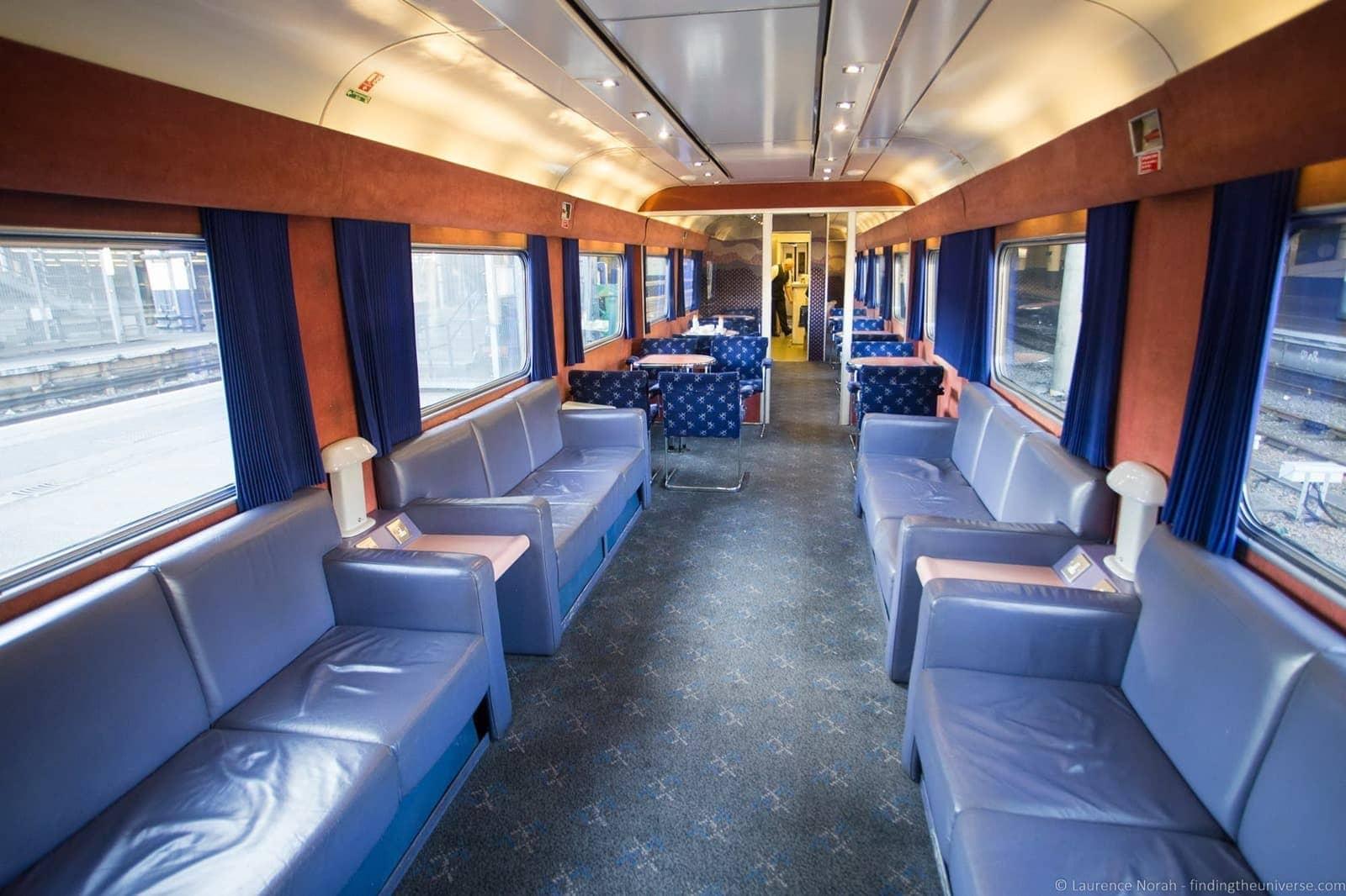 Caledonian Sleeper Lounge Car