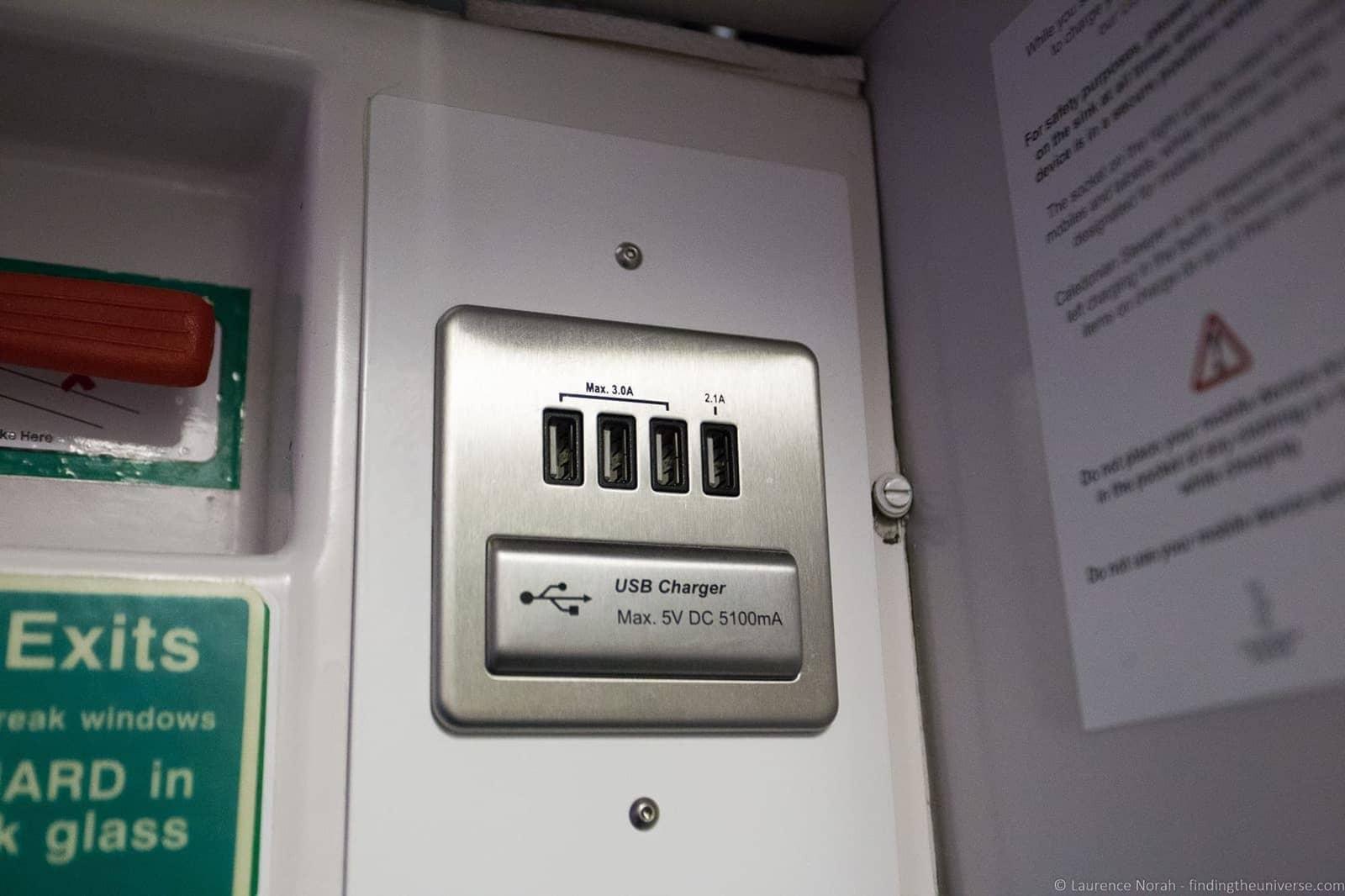 Caledonian Sleeper USB Power