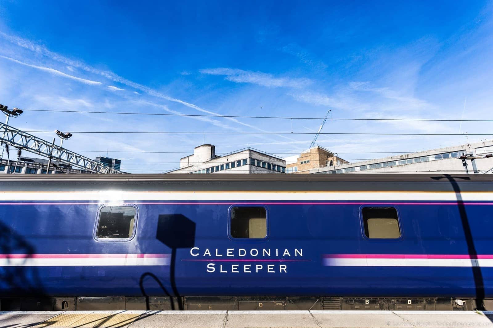 Using the Caledonian Sleeper Train to Travel in the UK - Finding the