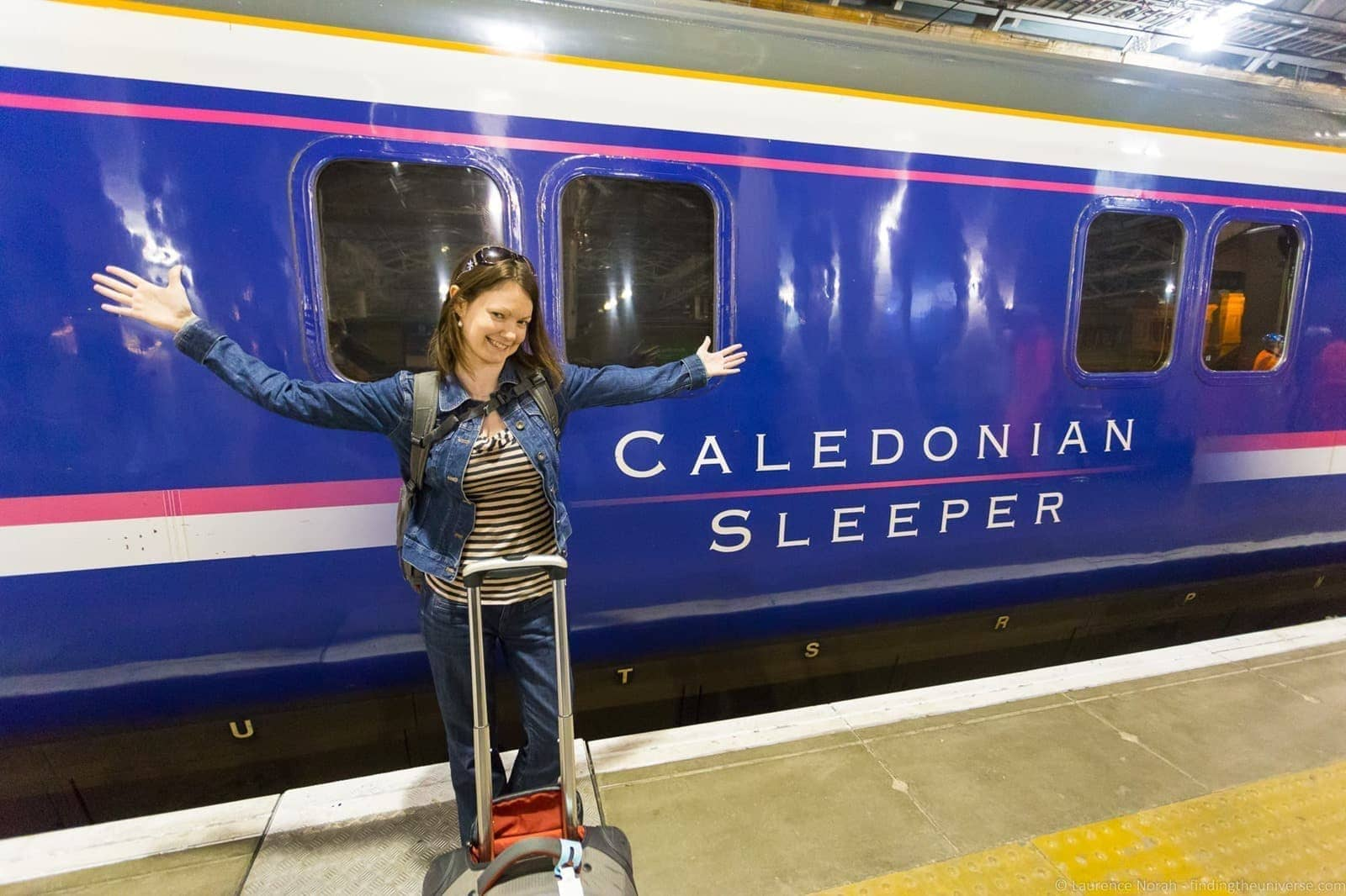 Using The Caledonian Sleeper Train To Travel In The Uk