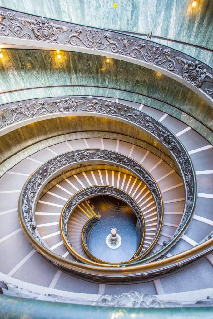 Exit Stairway Vatican Museums Rome_by_Laurence Norah (1)