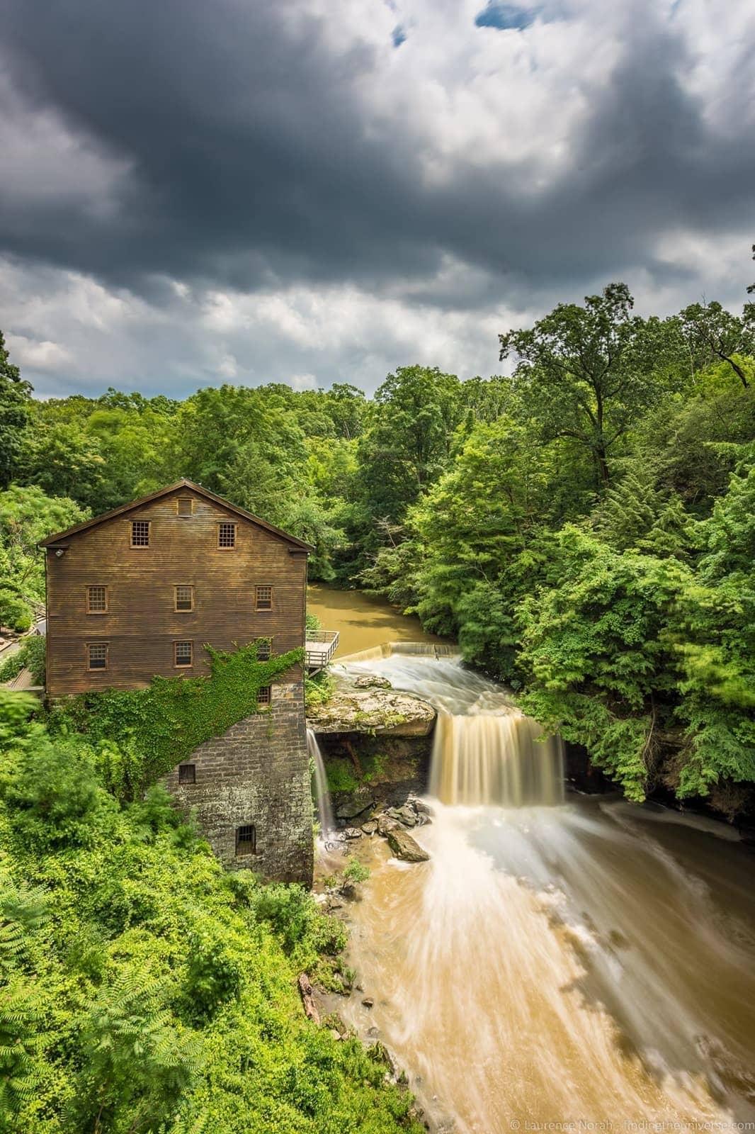 Lanternmans Falls Ohio