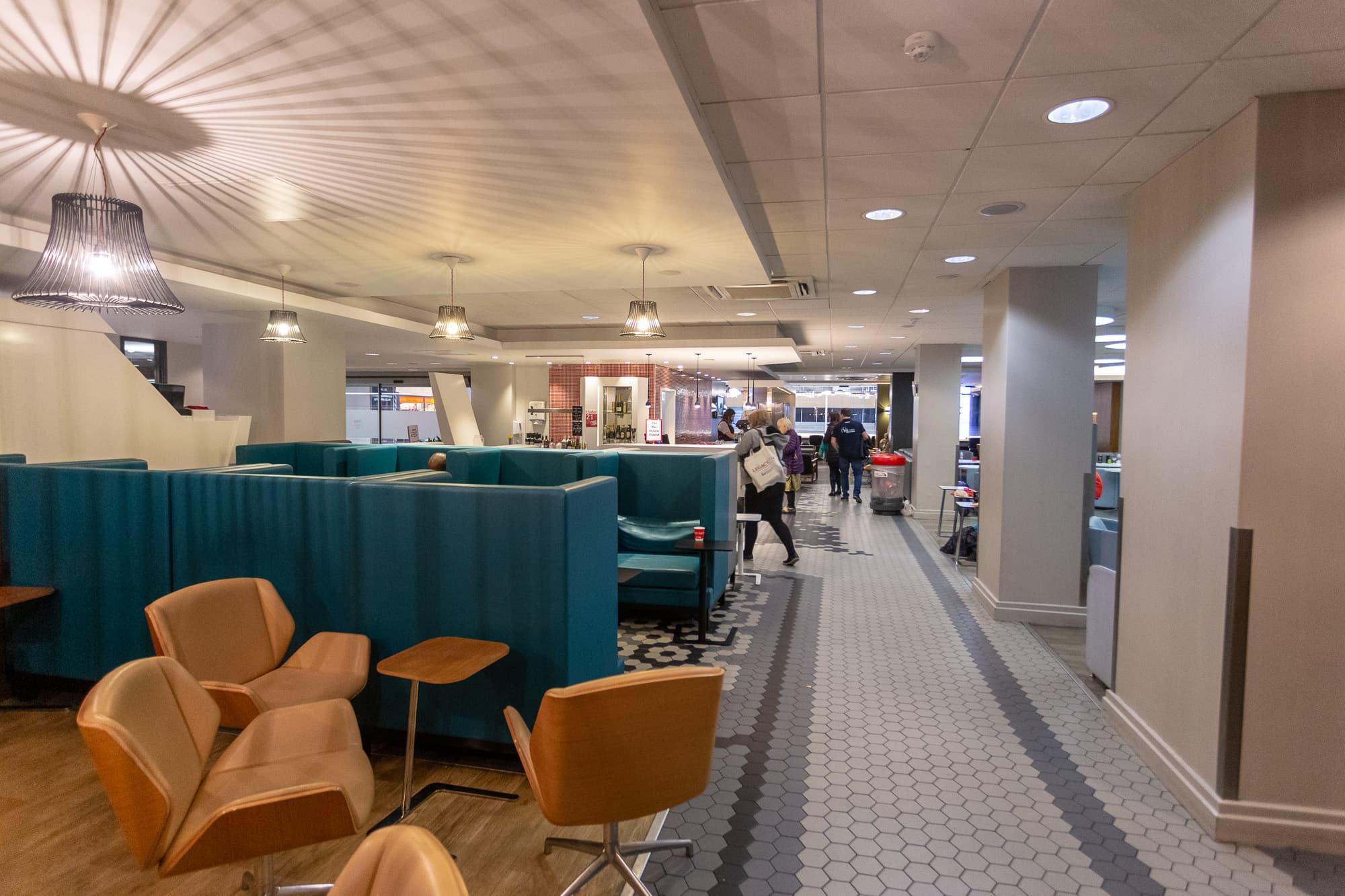 Virgin First Class Lounge Euston