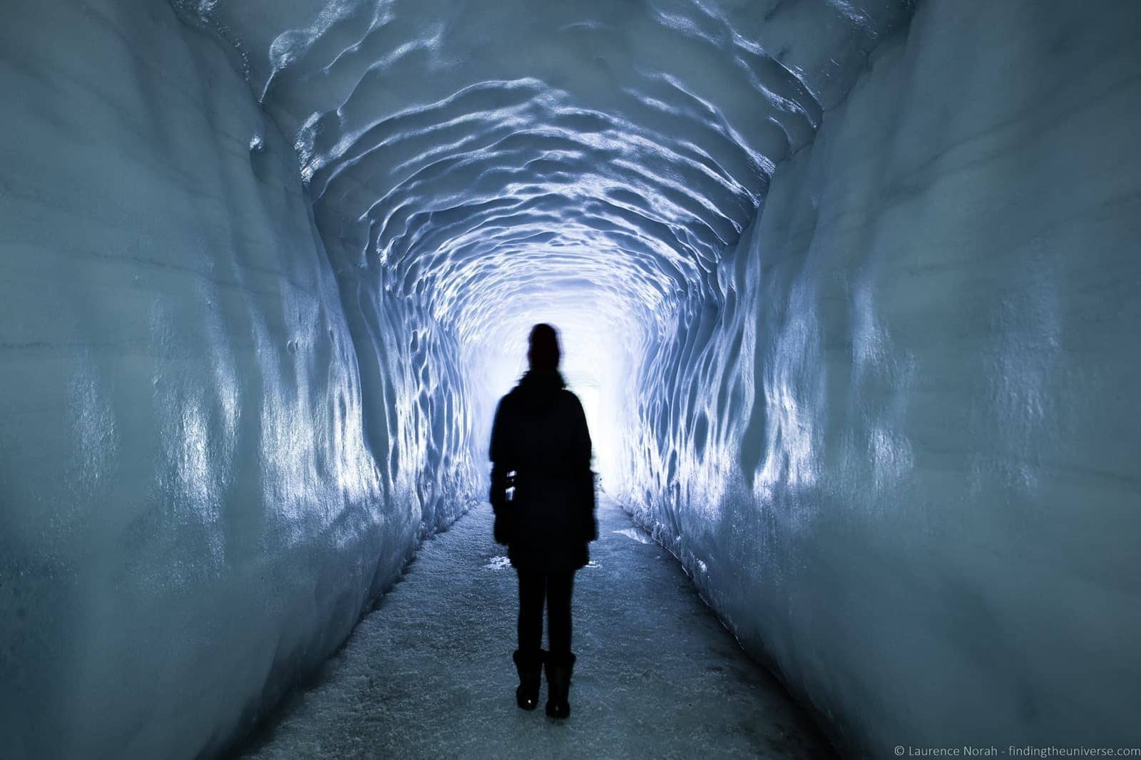 Into the Glacier Husafell Iceland