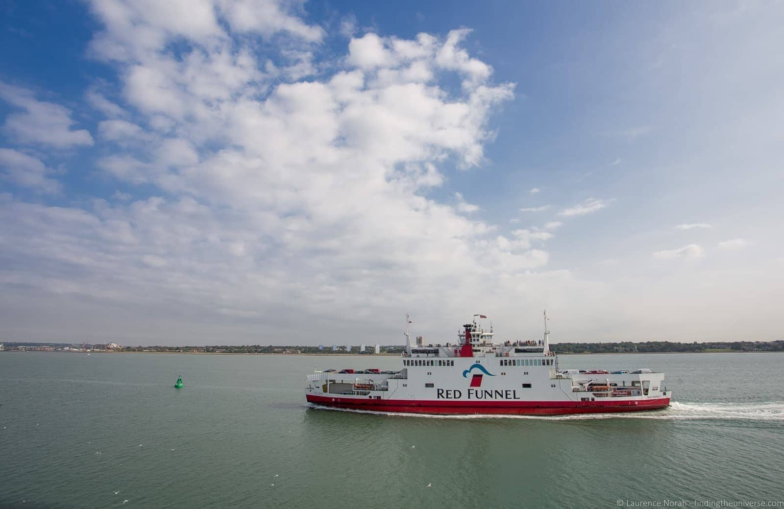 Red Funnel Ferry Isle of Wight