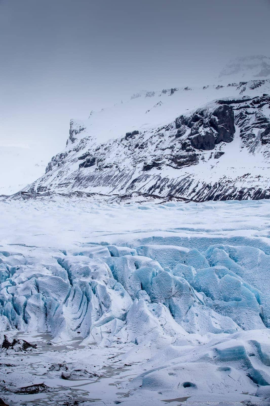 Svomafellsjokull Glacier