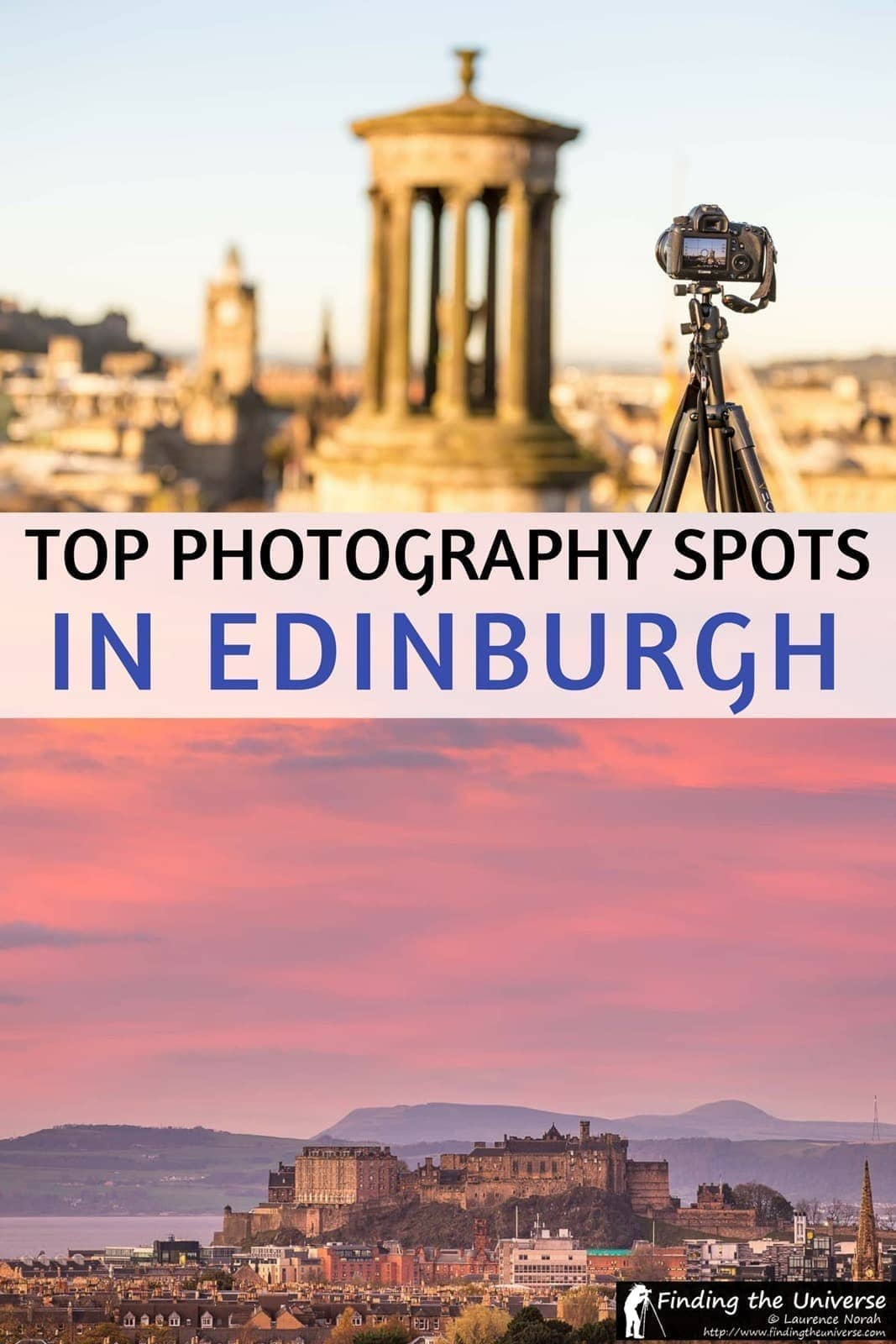 Guide to the best photography locations in Edinburgh