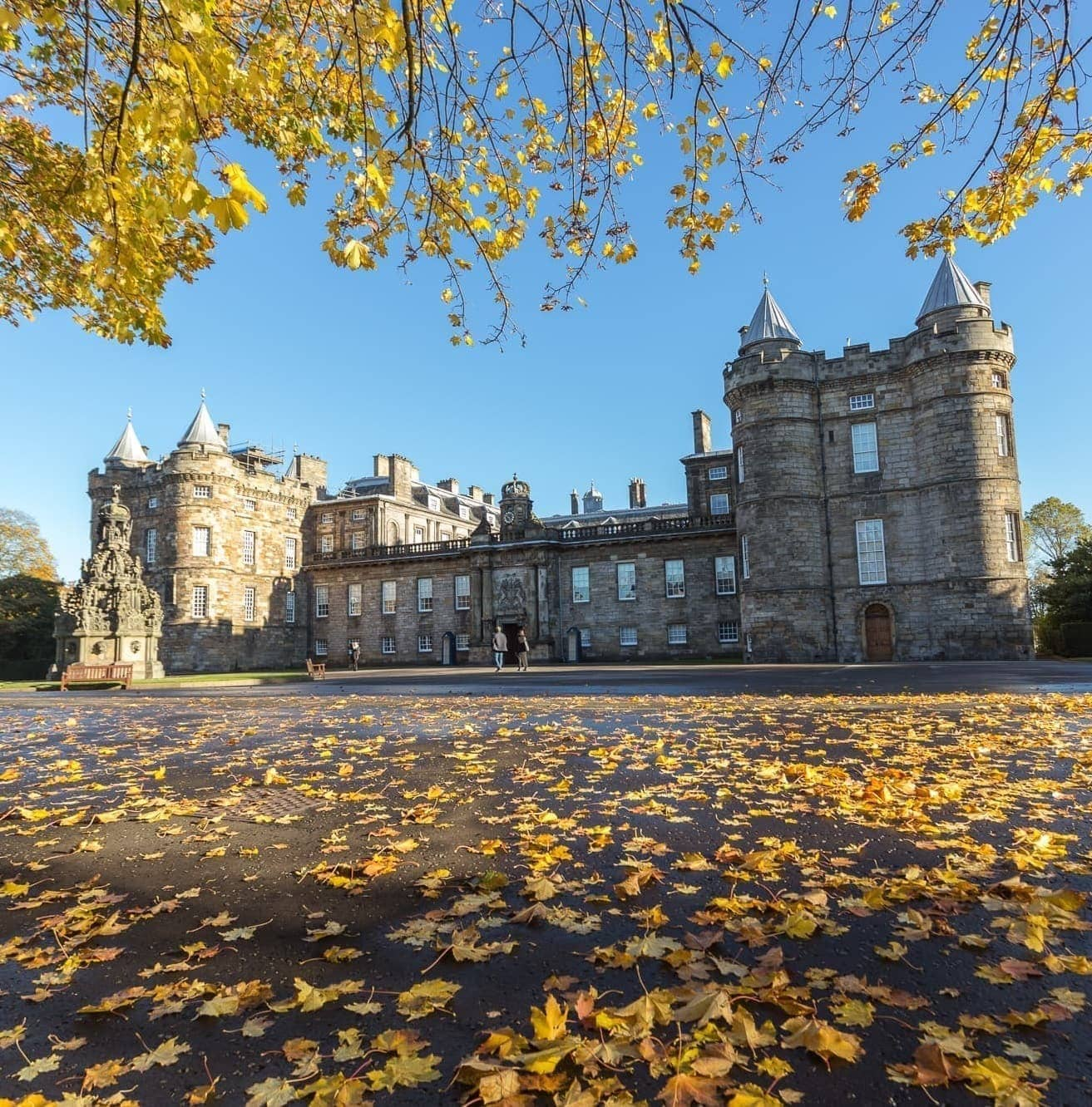 Holyrood House Autumn