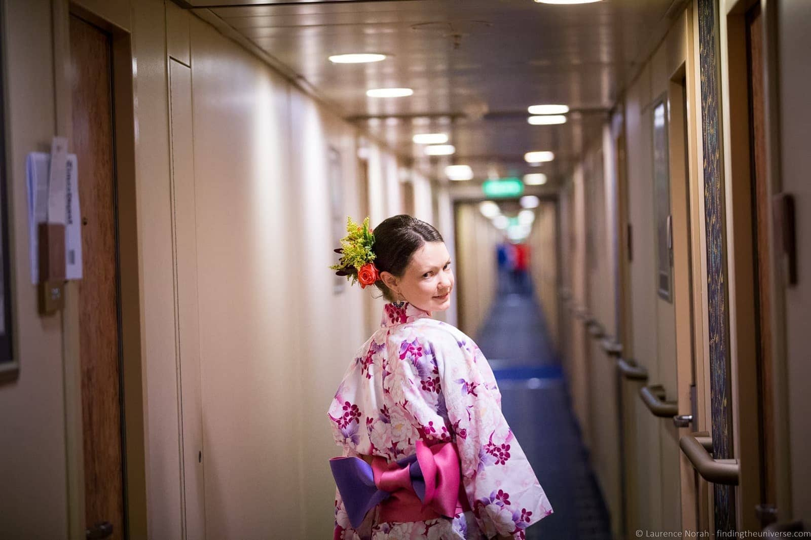 Onboard Holland America MS Amsterdam