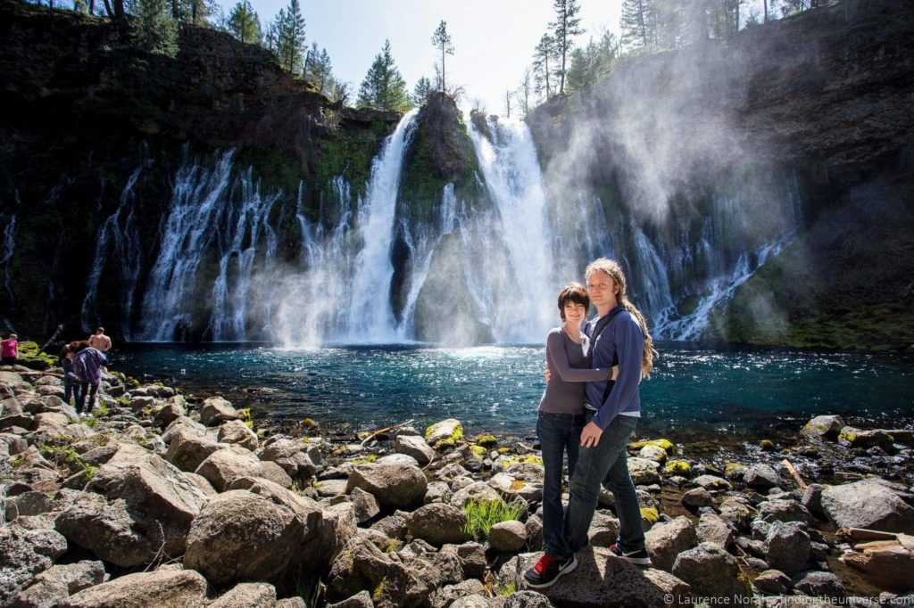 Laurence and Jessica Burney Falls