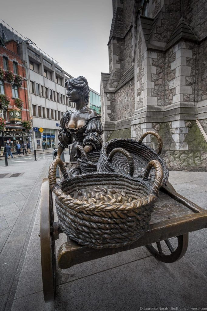 2 Days in Dublin - Molly Malone Statue Dublin