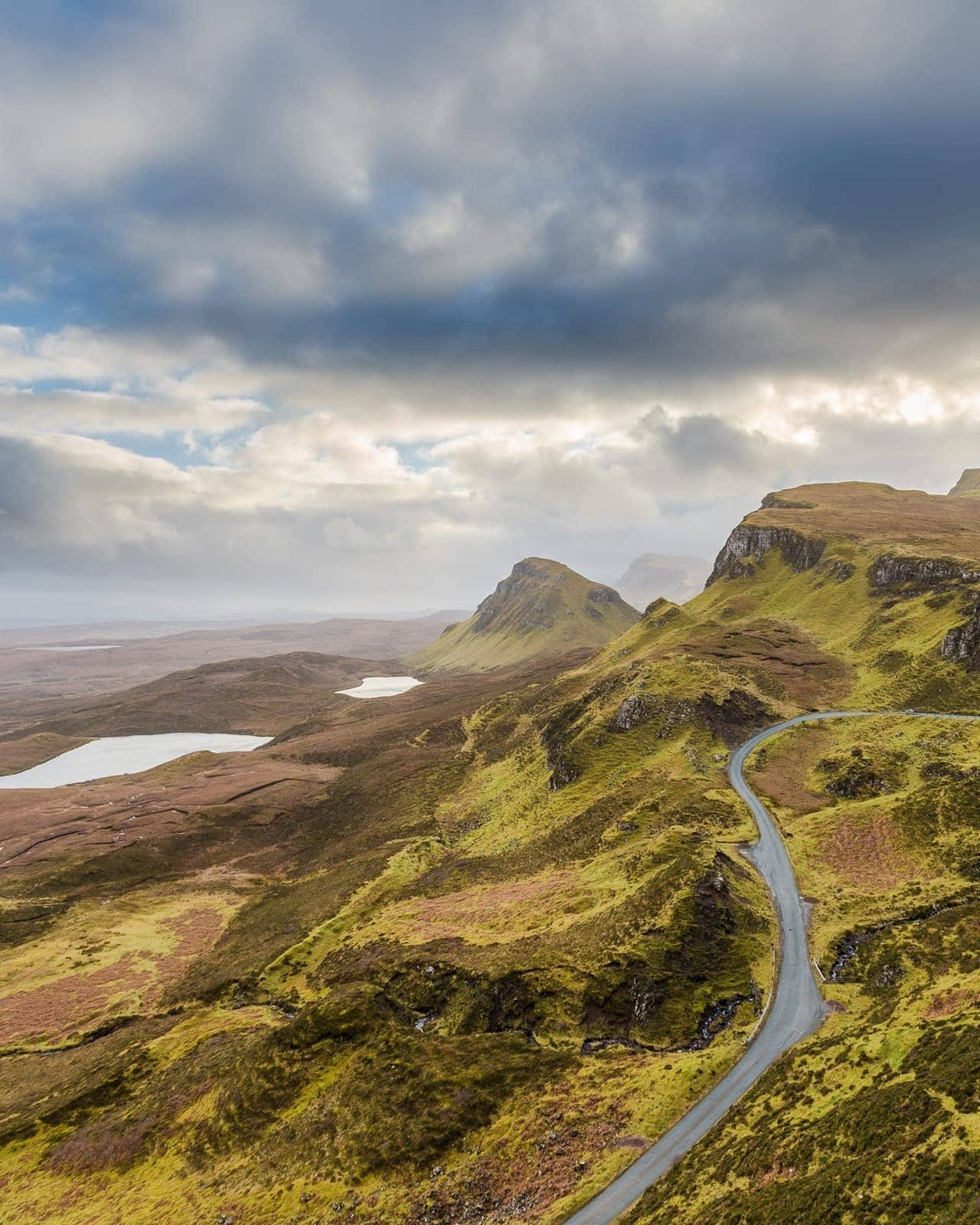 Quirang Views Isle of Skye