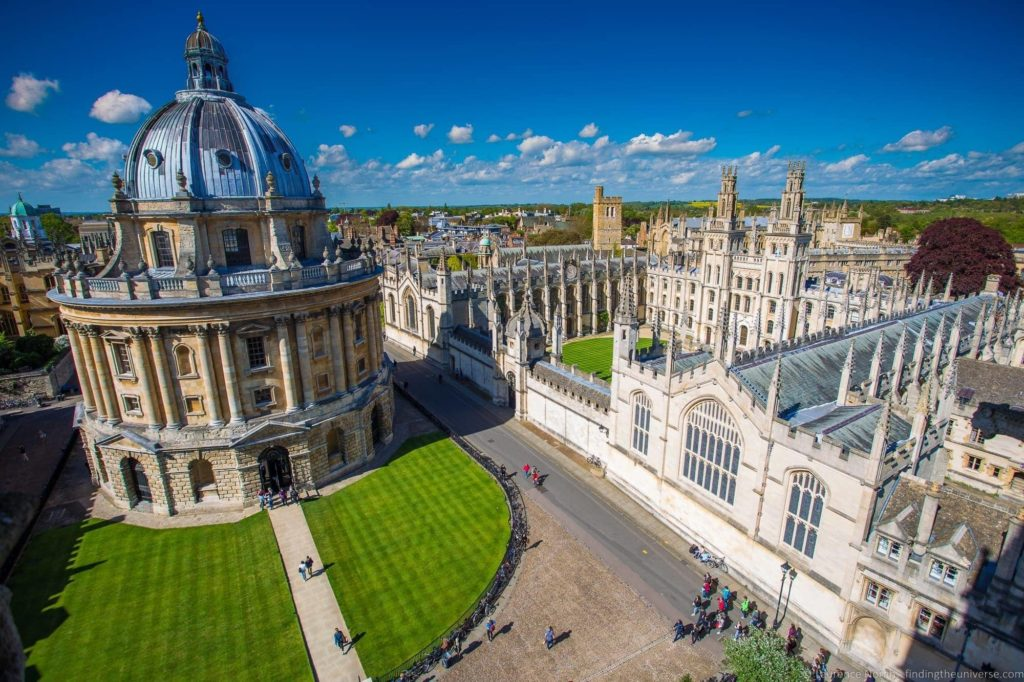 10 Day UK Itinerary - Oxford Radcliffe Camera