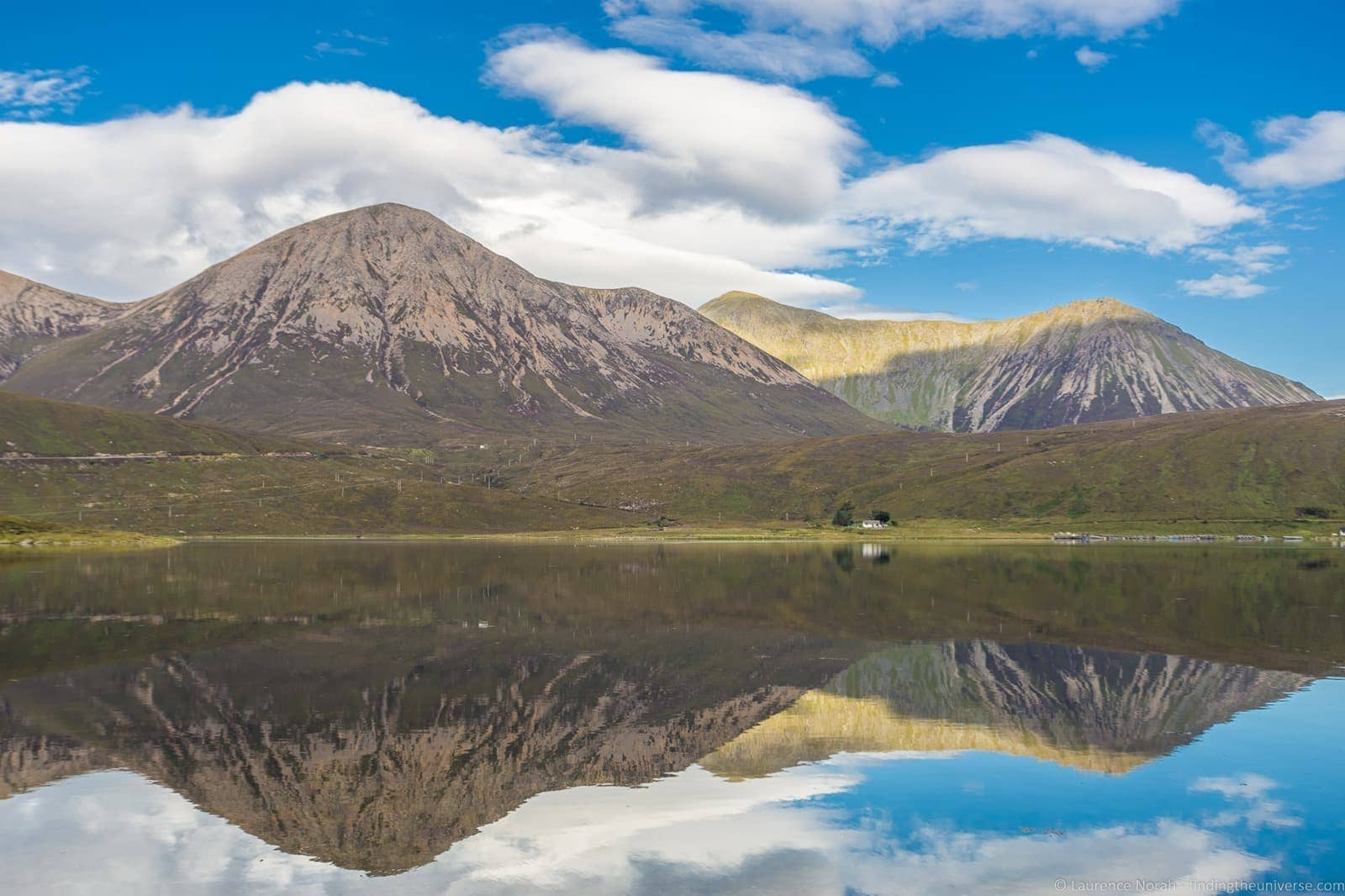 Scottish loch reflections