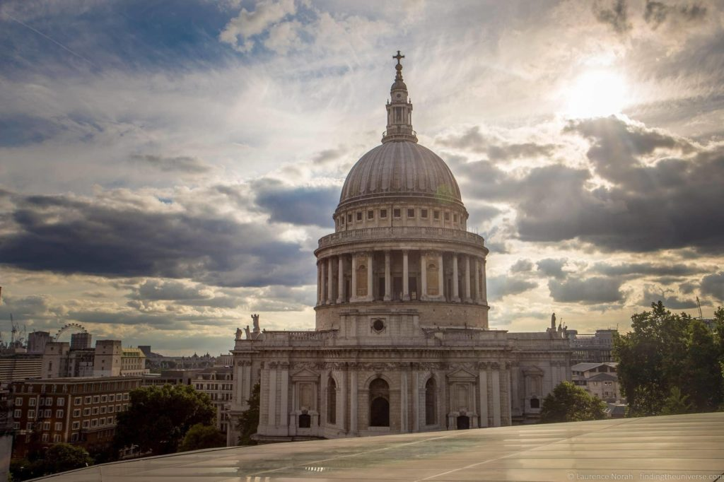10 Day UK Itinerary - St Pauls Cathedral London