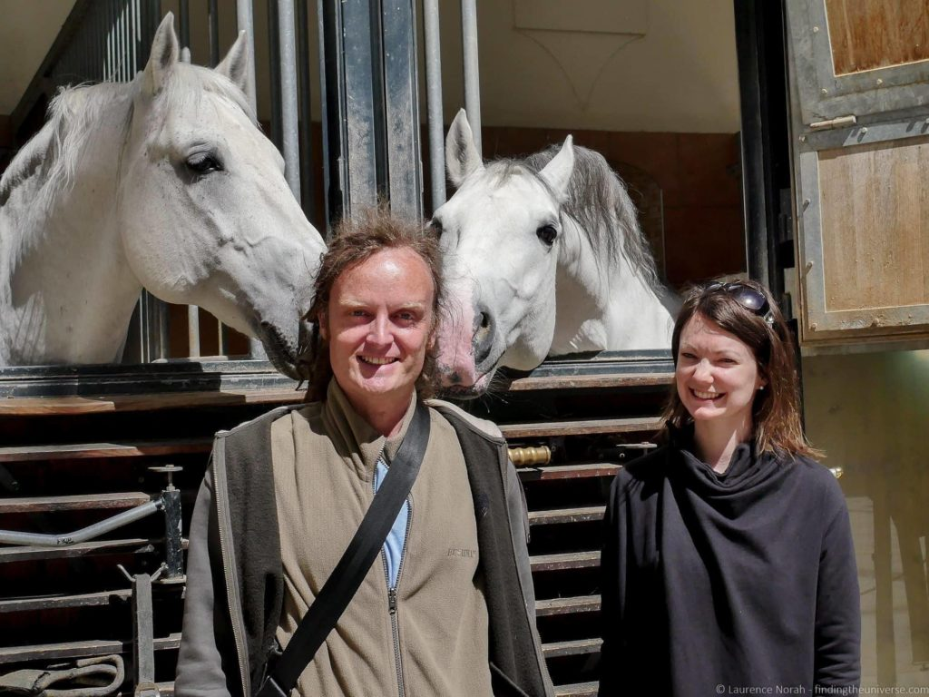 3 Days in Vienna - Lipizzan horses Spanish Riding School Vienna