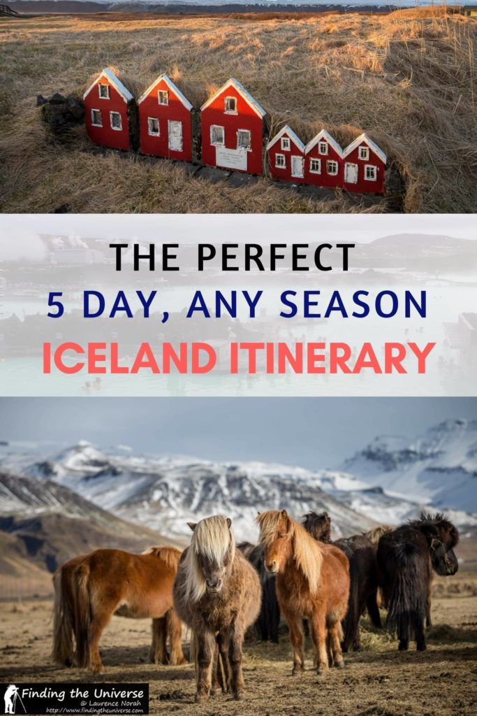 Planning a trip to Iceland? Our detailed itinerary for 5 days in Iceland has everything you need to know for visiting Iceland at any time of year, including a detailed day-by-day breakdown of the top sights and activities, plus lots of tips to help you make the most of your Iceland adventure!