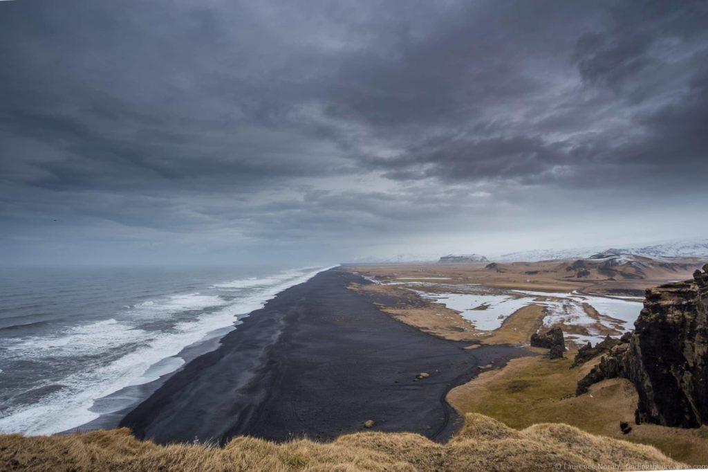 5 day Iceland itinerary - Black sand beach Iceland