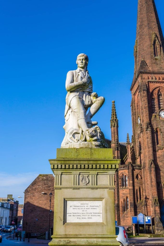 Burns Statue Dumfries