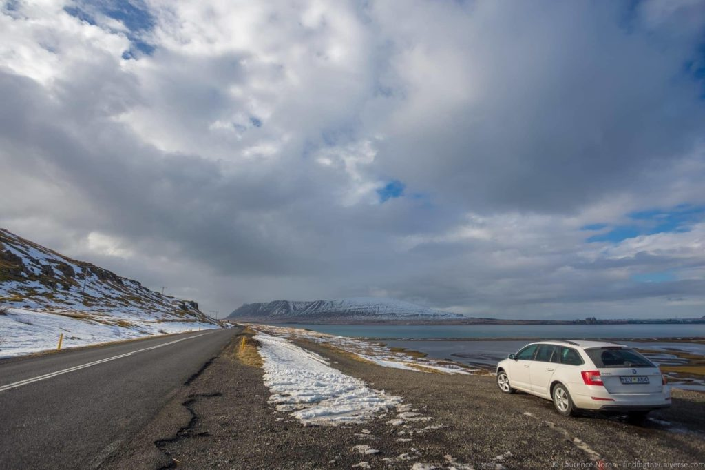 Car Road Iceland scenery