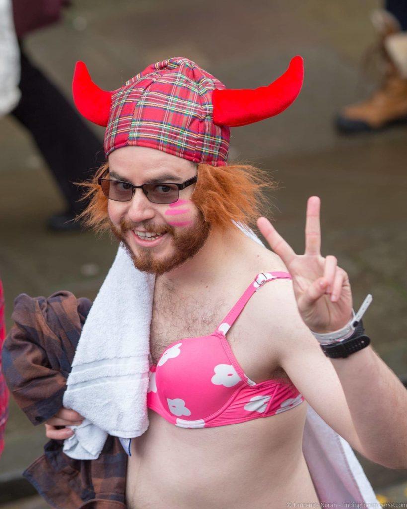 Loony Dook Hogmanay Edinburgh