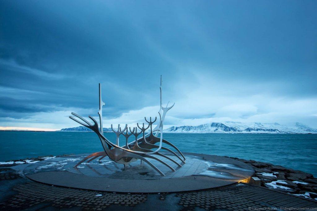 5 Days in Iceland - Sun Voyager Statue, Reykjavik