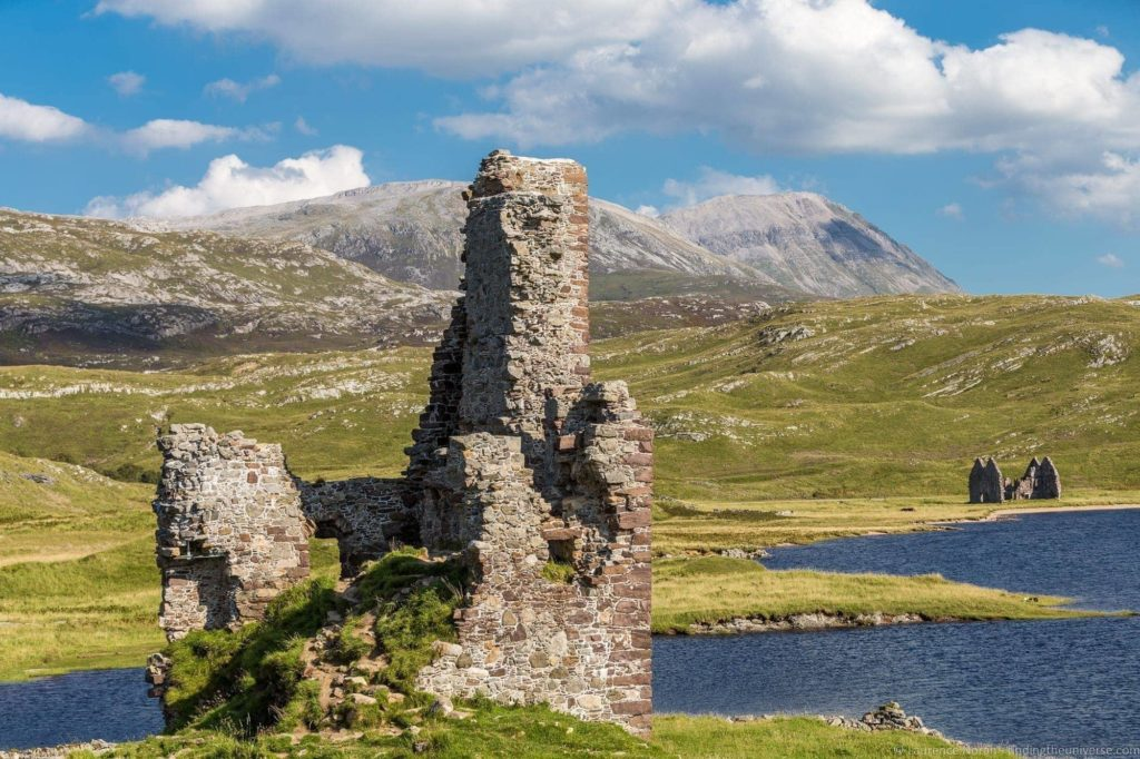 Ardvreck Castle Highlands