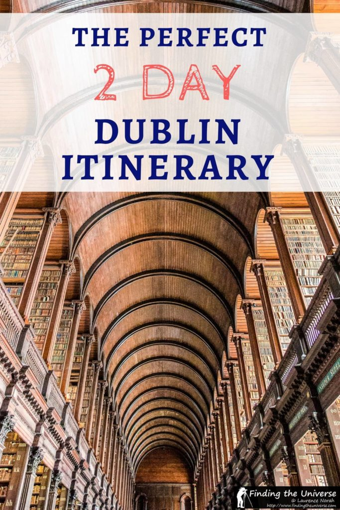 Planning on spending 2 Days in Dublin? This guide has you covered, with a detailed itinerary of sights and attractions, a map for your three days plus tips and advice on accommodation and saving money while you're in Dublin!