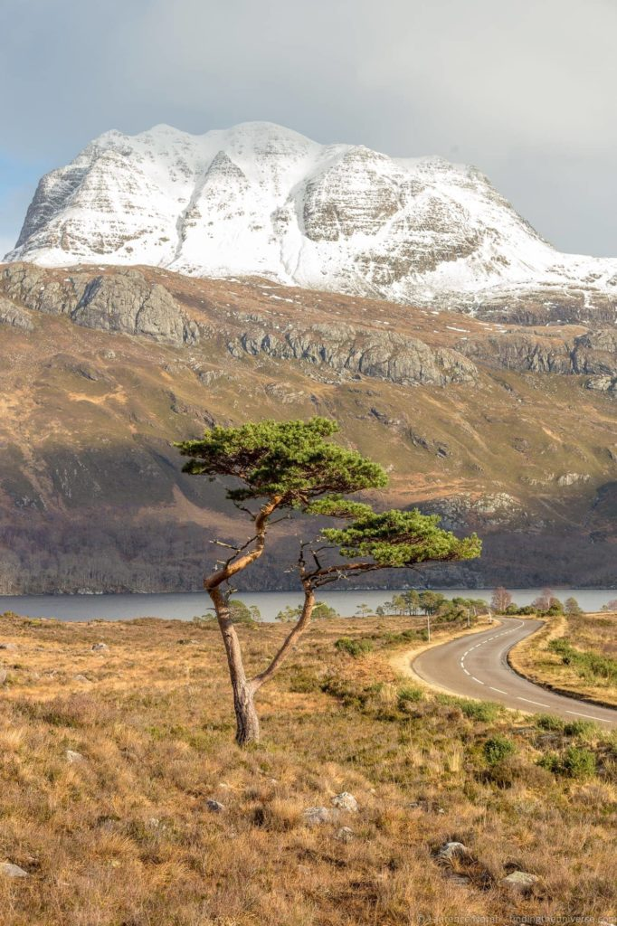 North Coast 500 camping itinerary - Lone tree Loch maree