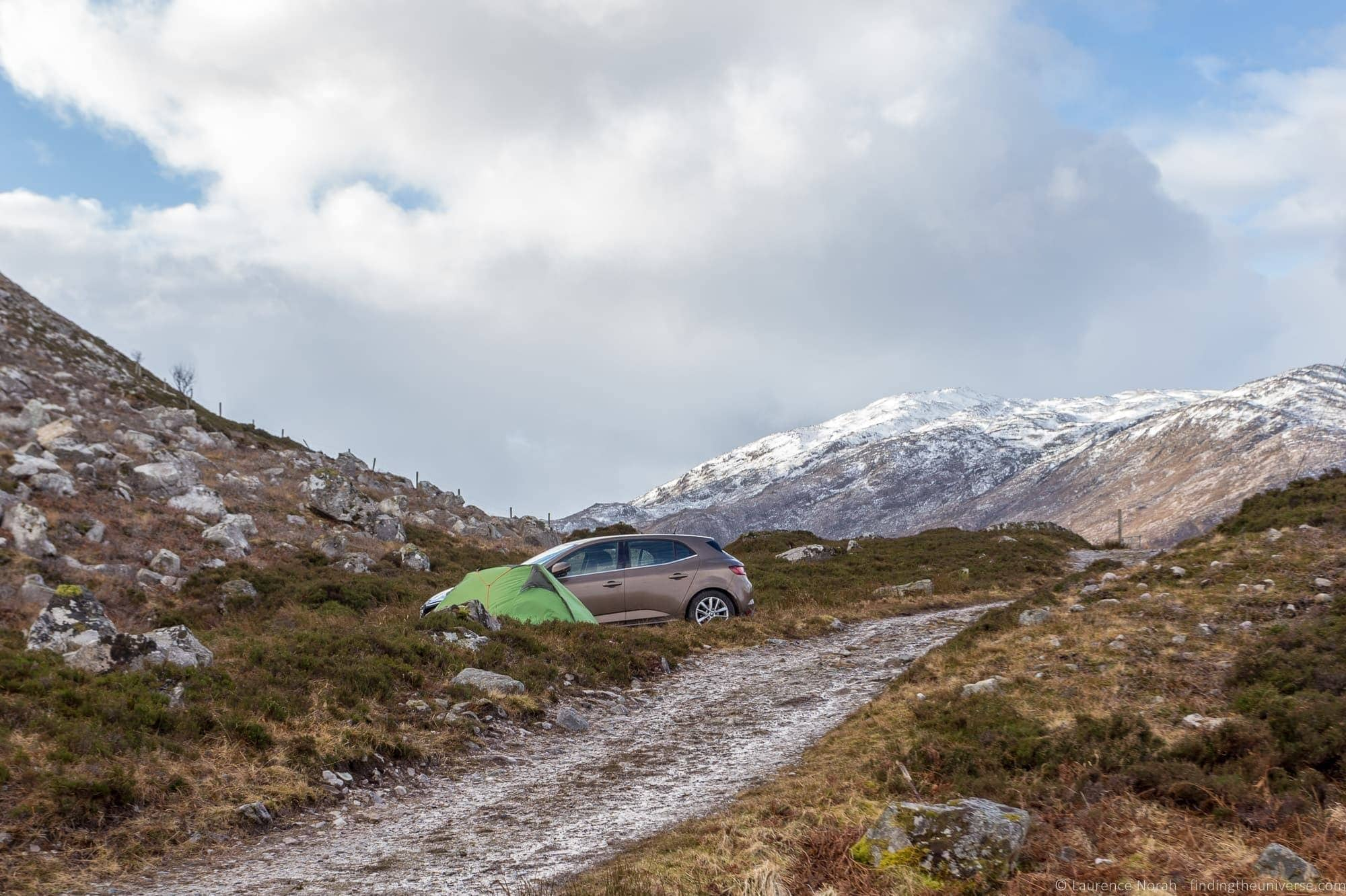 7 Day North Coast 500 Camping Itinerary - Finding the Universe