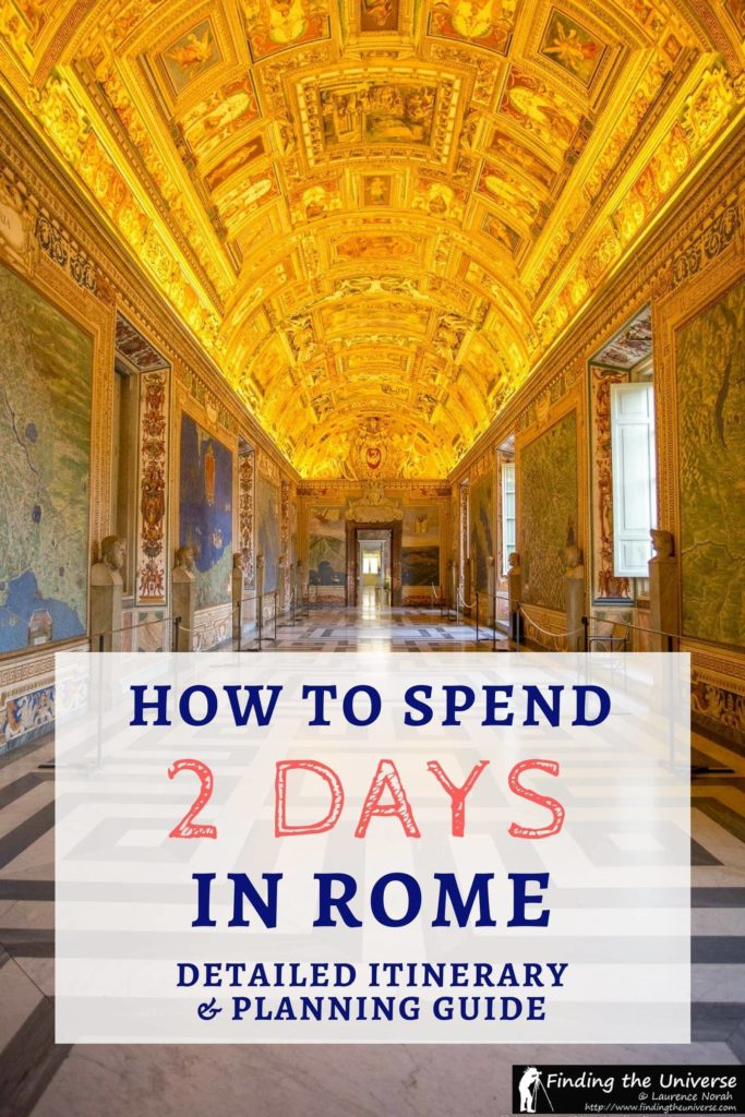 A detailed guide to spending 2 days in Rome, including tips on what to see in Rome, a detailed 2 day Rome itinerary, advice on where to stay in Rome, tips on how to save money and skip the lines in Rome and lots more to help you plan the perfect Rome trip!