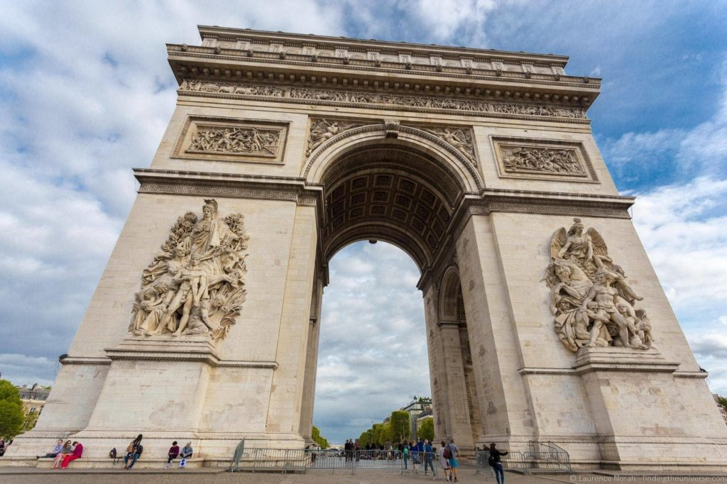 Arc de Triomphe Paris_by_Laurence Norah