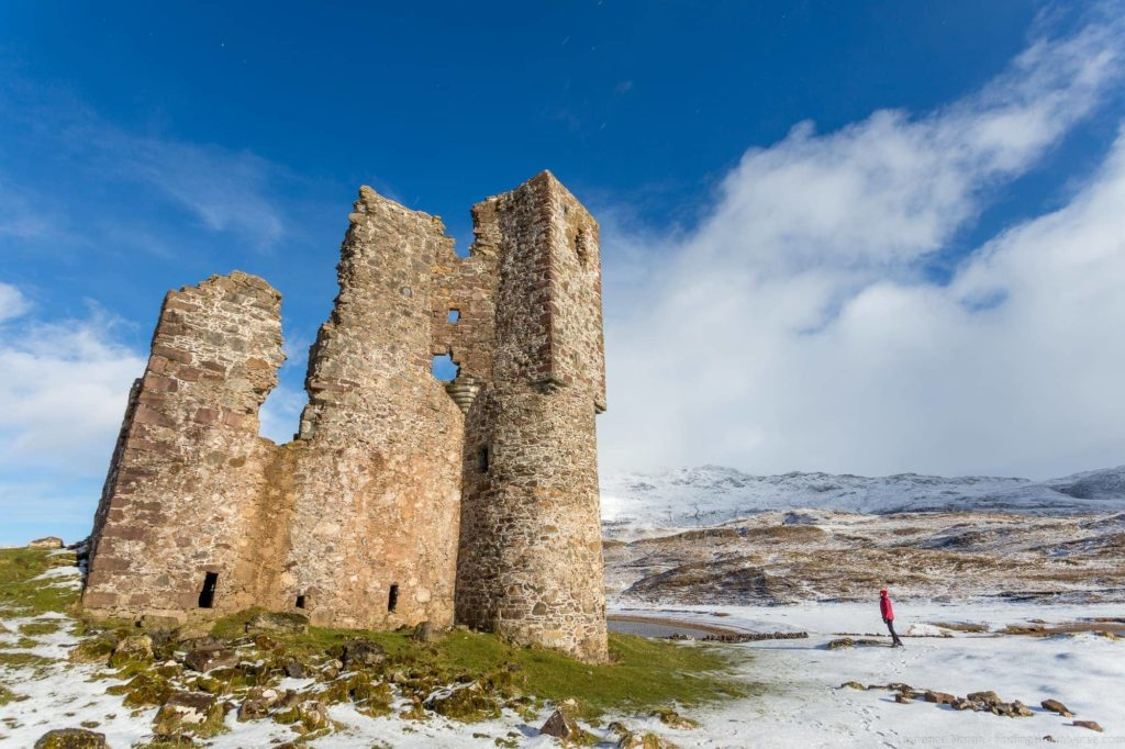 How much does it cost to travel in the UK - Ardvreck Castle