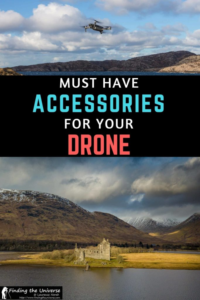 Must have drone accessories that every drone owner should consider buying for their drone. Everything from spare batteries to prop guards to other essential to make your drone experience more fun!