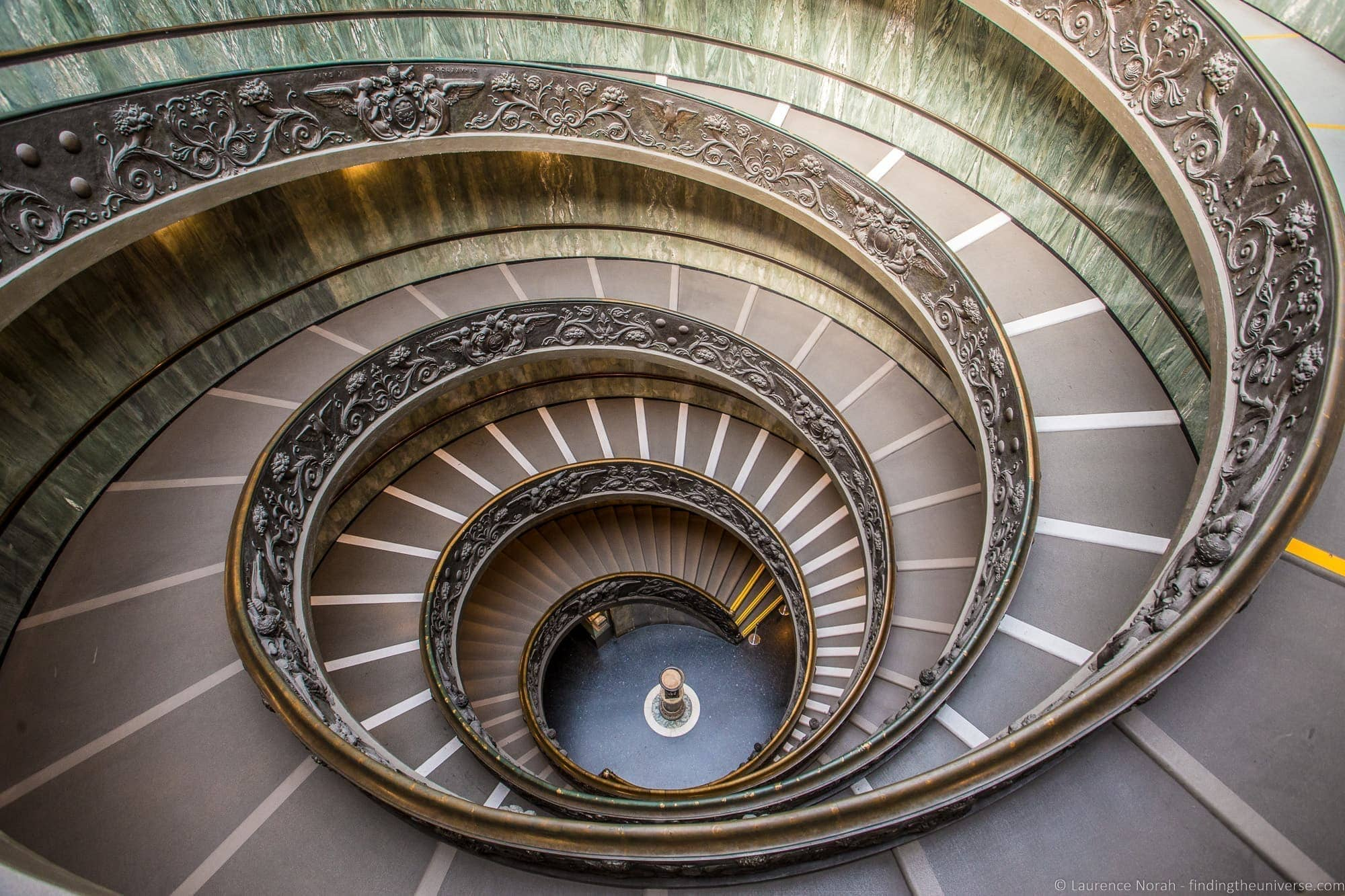 Exit Stairway Vatican Museums Rome_by_Laurence Norah (3)
