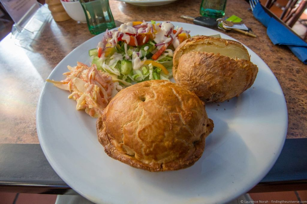 Food costs in the UK - Lochinver Pie Shop